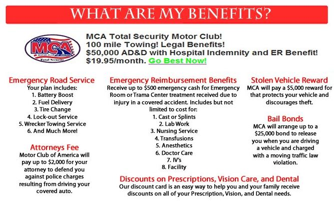 Motor club of america mca mca Motor club of america careers